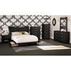 Step One 4 Piece Bedroom Set with Storage Bed