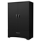 Step One Armoire - 2 Doors, Pure Black - SS-3107037