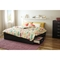 Step One King Platform Bed - 6 Drawers, Pure Black - SS-3107249