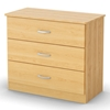 Step One Kids 3-Drawer Chest in Natural Maple