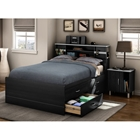 Cosmos Full Captains Bed with Nightstands