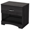 Step One Nightstand - 1 Drawer, Gray Oak - SS-3137062