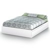 Vito Queen Mate's Bed in White