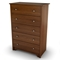 Vito Contemporary Chest in Cherry - SS-3156035