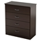 Libra Chest - 4 Drawers, Chocolate - SS-3159034