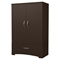 Step One Armoire - 2 Doors, Chocolate - SS-3159037