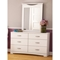 Step One Contemporary White Dresser - SS-3160010