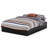 Vito Queen Mate's Bed in Black