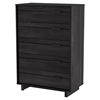 Fynn Chest - 5 Drawers, Gray Oak
