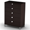Cacao Modern 5-Drawer Chest - SS-3259035