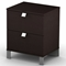 Cacao Modern 2-Drawer Nightstand - SS-3259060