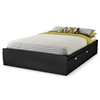 Spark Full Mate's Bed in Black