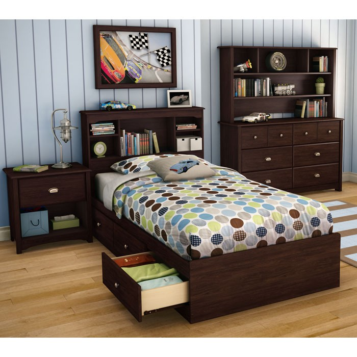 Willow Transitional Dresser in Havana Brown - SS-3339027