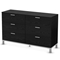 Flexible Black Oak Dresser - SS-3347027