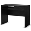 Flexible Modern Desk in Black Oak