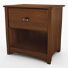 Willow Transitional Nightstand in Cherry