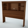 Willow Cherry Twin Bookcase Headboard