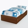 Willow Twin Size Mate's Platform Bed in Cherry