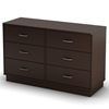 Logik Contemporary Dresser in Chocolate
