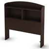Logik Storage Headboard in Chocolate