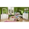 Logik White Twin Mate's 4 Piece Bedroom Set - SS-3360-4PC