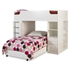 Logik Twin Loft Bedroom Set in White