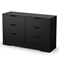 Holland Pure Black Platform Storage Bedroom Set - SS-3370-BSET