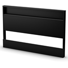 Holland Pure Black Contemporary Headboard