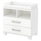 Cuddly Changing Table - Removable Changing Station, Pure White - SS-3480332