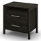 Gravity Modern Queen Bedroom Set in Ebony - SS-3577203-3577256-4PC