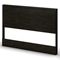 Gravity Queen Panel Bed in Ebony - SS-3577203-3577256