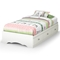 Tiara Twin Size Mate's Bed in White - SS-3650212