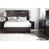 Gloria Queen Platform Bedroom Set - Chocolate