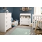Reevo Changing Table and 4 Drawers Chest - Pure White - SS-3840A2