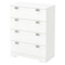 Reevo 4 Drawers Chest - Pure White - SS-3840034