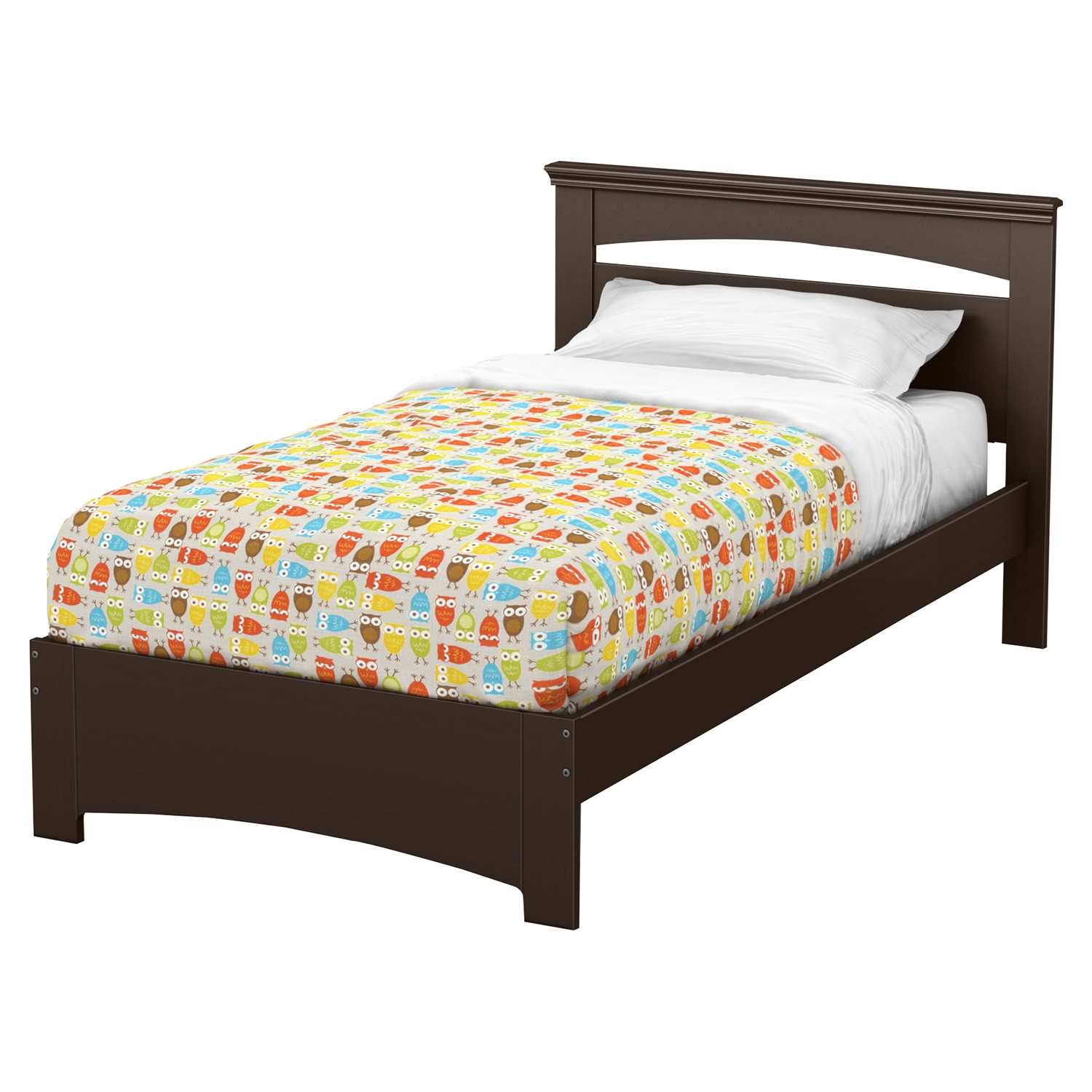 Libra Twin Bed - Chocolate