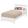 Libra Twin Bed - Pure White