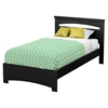 Libra Twin Bed - Pure Black