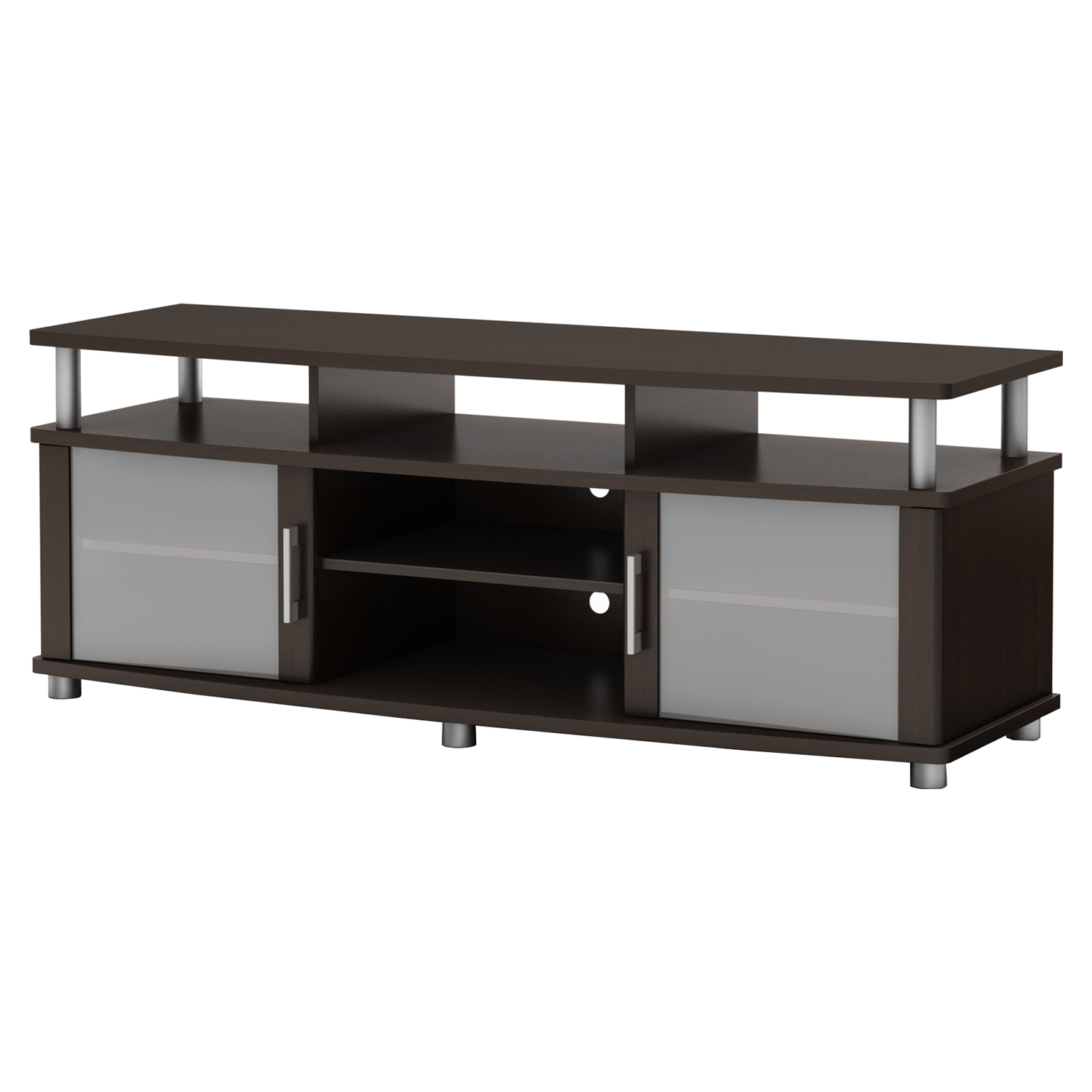 City Life TV Stand - Chocolate