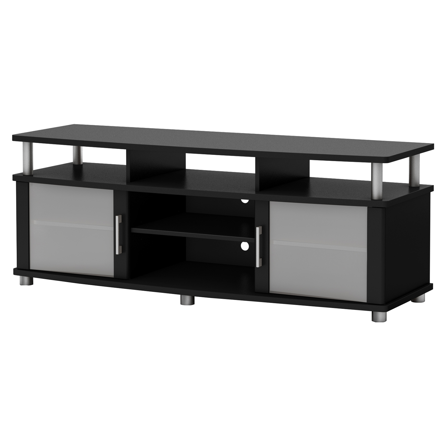 City Life TV Stand - Pure Black