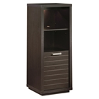 Skyline Chocolate Brown Bookcase / Display Case