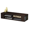 City Life Wall Mounted Media Console - Chocolate