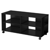 Jambory Storage Unit - Casters, Pure Black