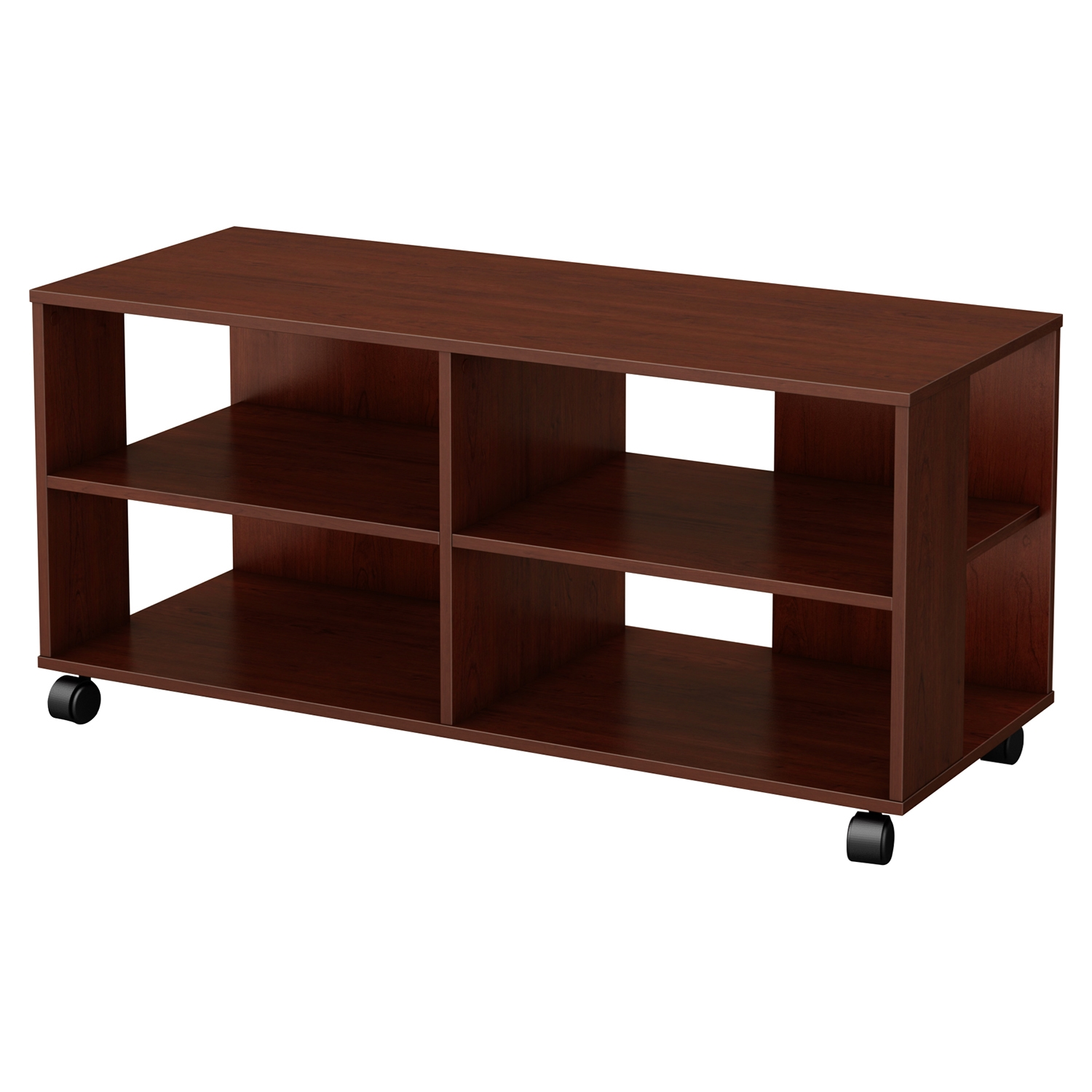 Jambory Storage Unit - Casters, Royal Cherry - SS-4946606