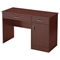 Axess Small Desk - 2 Drawers, 1 Door, Royal Cherry - SS-7246070