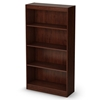 Axess 4-Shelf Bookcase in Royal Cherry