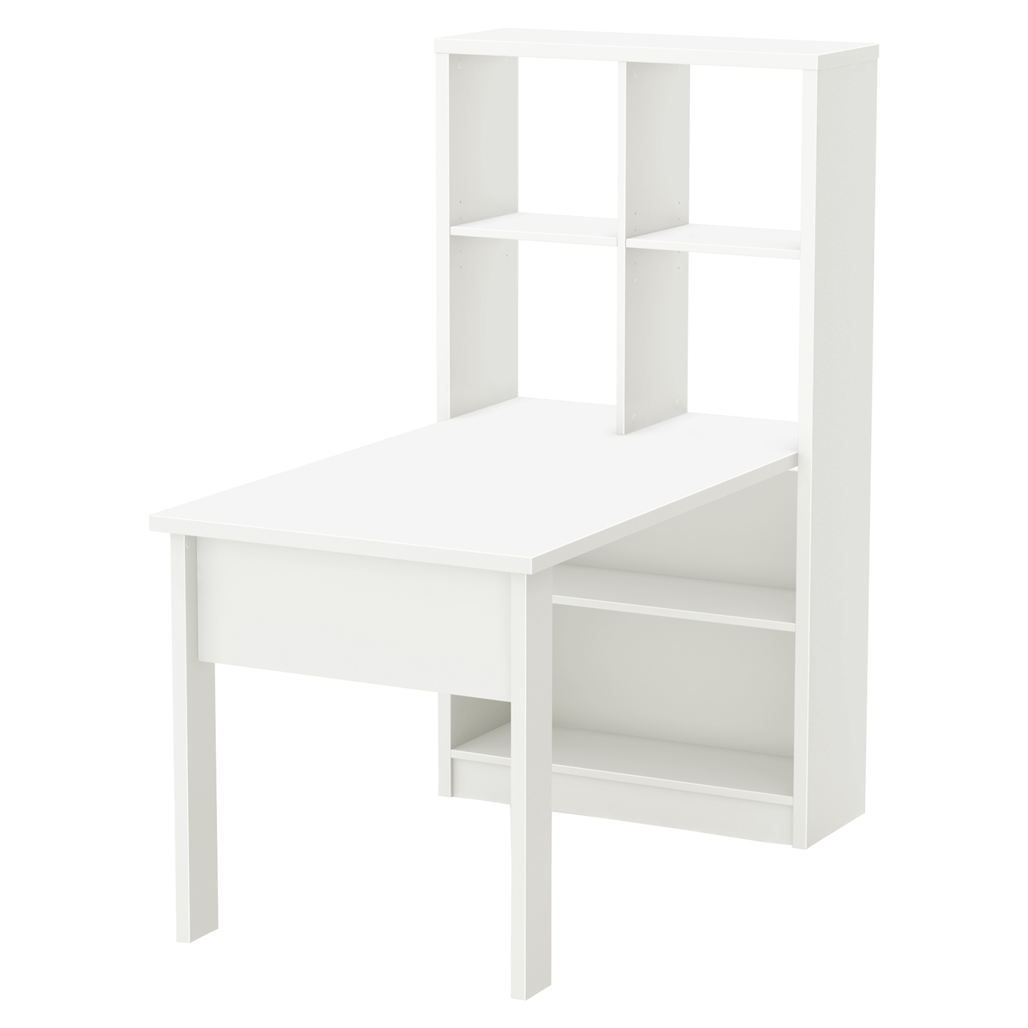 Annexe Craft Table and Storage Unit Combo - Pure White