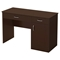 Axess Small Desk - 2 Drawers, 1 Door, Chocolate - SS-7259070