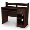 Axess Small Desk in Chocolate Brown