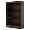 Axess Brown Bookcase / Display Unit with 3 Shelves